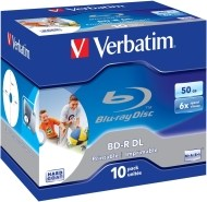 Verbatim 43736 BD-R DL 50GB 10ks