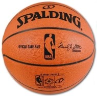 Spalding Leather NBA Game
