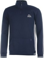 Lonsdale 2 Stripe Quarter Zip Top