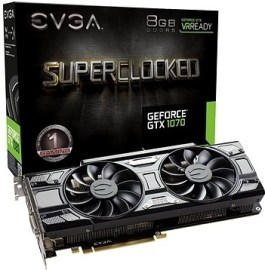 Evga GeForce GTX 1070 8GB 08G-P4-5173-KR