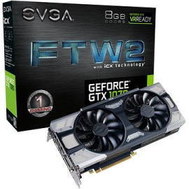 Evga GeForce GTX 1070 8GB 08G-P4-6676-KR