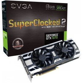Evga GeForce GTX 1070 8GB 08G-P4-6573-KR